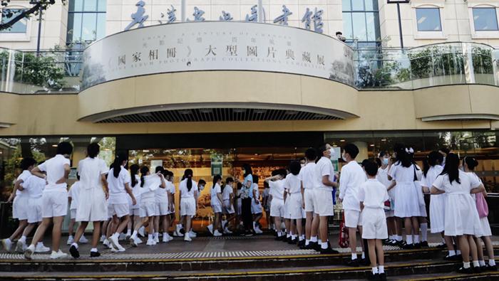 """""""讓香港普通市民更了解國家""""——《國家相冊》大型圖片典藏展閉幕"""