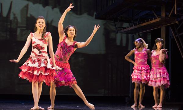 百老匯音樂劇《夢斷城西》在香港上演