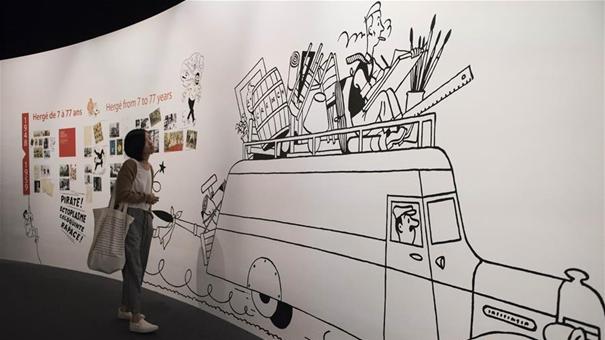 """香港將舉行比利時經典漫畫人物""""丁丁的世界""""主題展覽"""