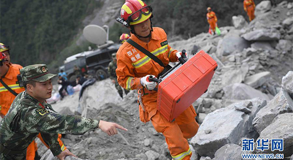 我國救災力量不斷提升專業化應對能力