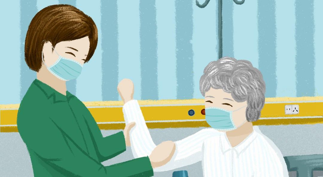 [公益海報]伸出援手,為湖北養老護理力量助力