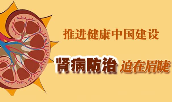 推進健康中國建設 腎病防治迫在眉睫