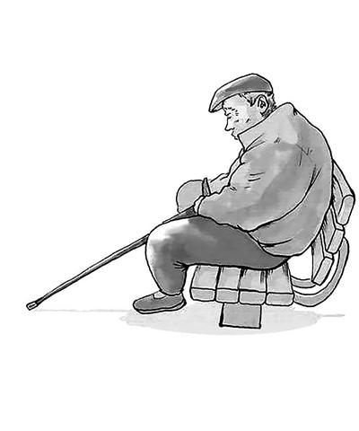 55歲以上老人需警惕抑鬱症