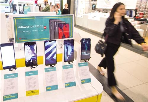 國産手機佔九成市場份額