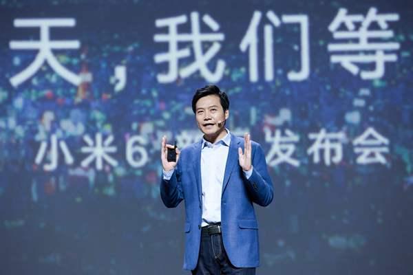 小米6手機發布:性能與顏值兼備
