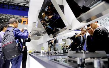 中國家電及消費電子博覽會在滬開幕(組圖)