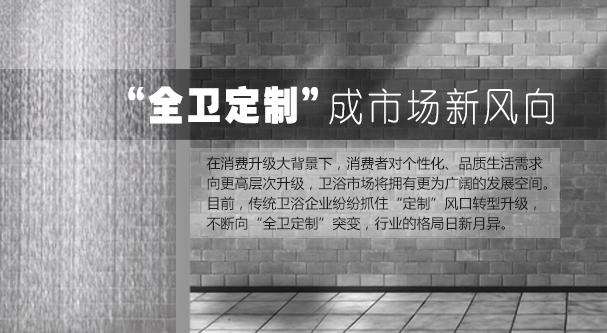 """""""全衛定制""""成市場新風向"""