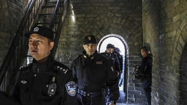 中意在八達嶺長城進行聯合警務巡邏