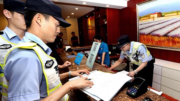 上海警方開展夜間集中打擊整治行動