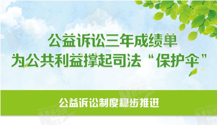"""公益訴訟三年成績單 為公共利益撐起司法""""保護傘"""""""