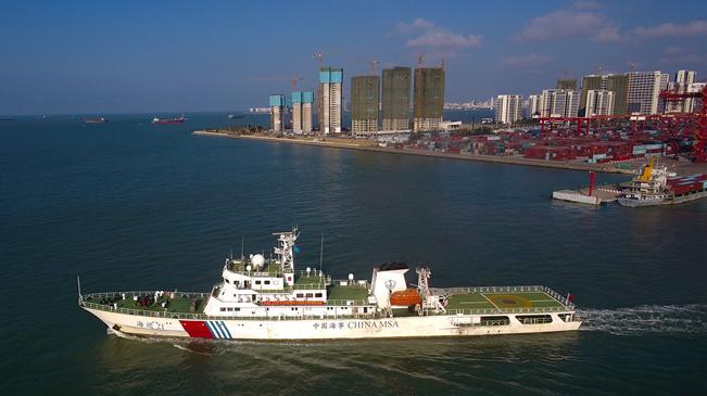 瓊桂粵海事部門開展聯合巡航執法