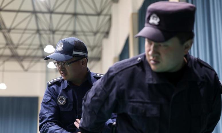 青海:警務實戰送教西寧監獄幹警