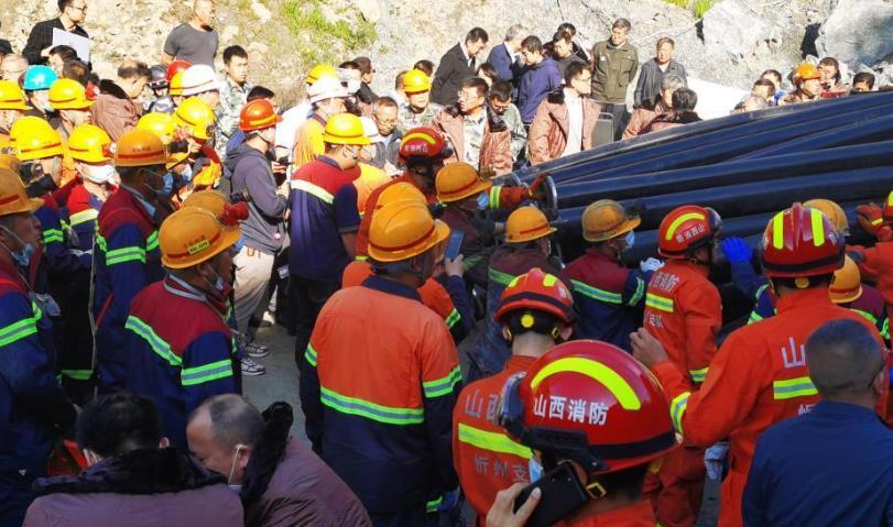 山西代縣一鐵礦發生透水事故 13人被困