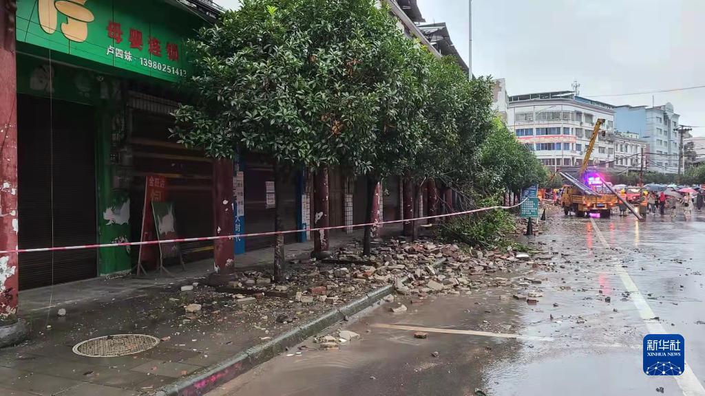 3人死亡88人受伤 紧急转移安置3212人――四川泸县地震救援现场直击