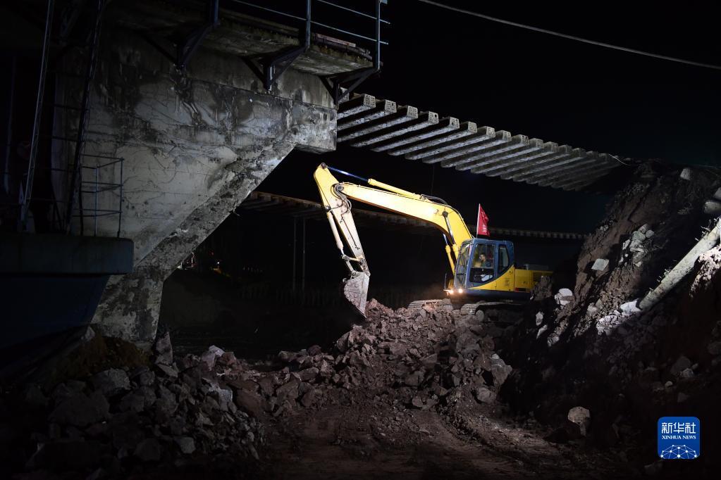 好消息!山西境内受损南同蒲铁路上行线恢复通车