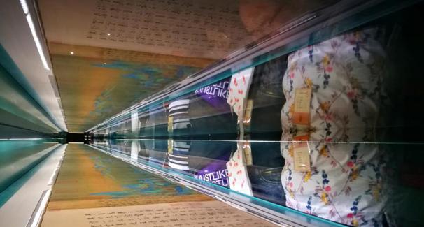 北宋名畫《千裏江山圖》在故宮展出