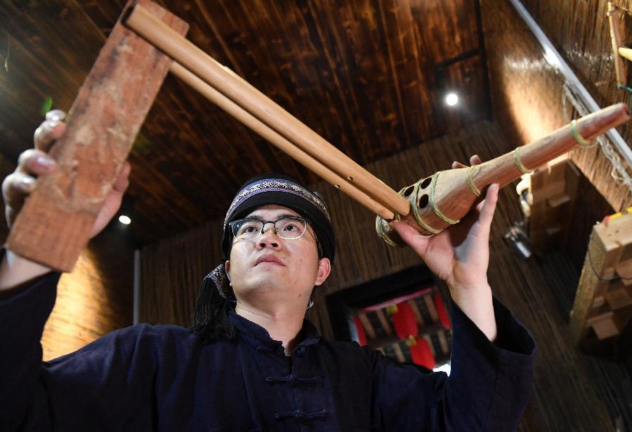 【圖片故事】瑤族青年的文化傳承情