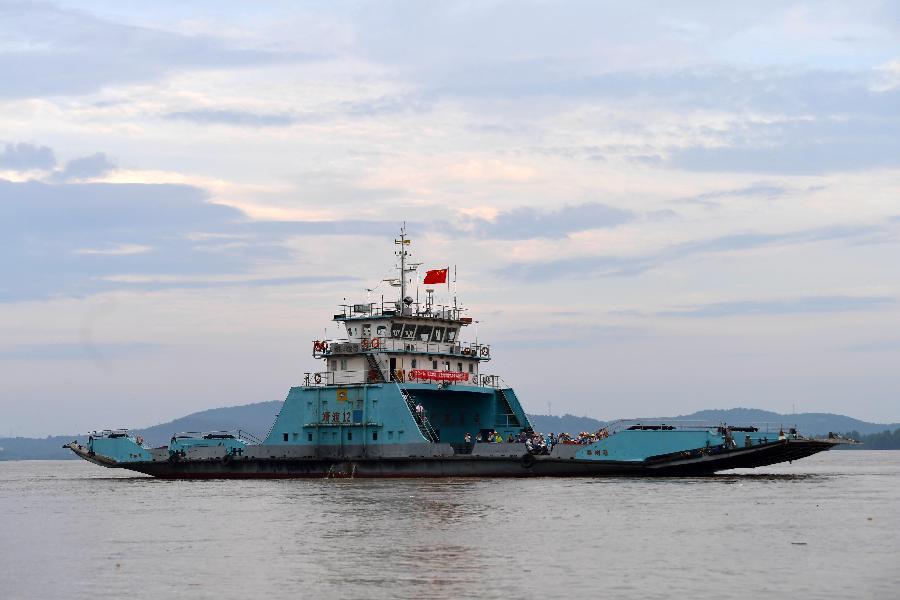 九江江新洲:部分居民有序轉移