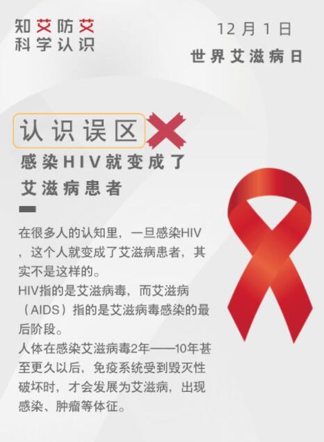 """拒絕""""談艾色變""""!關于艾滋病,這九種説法都不靠譜"""