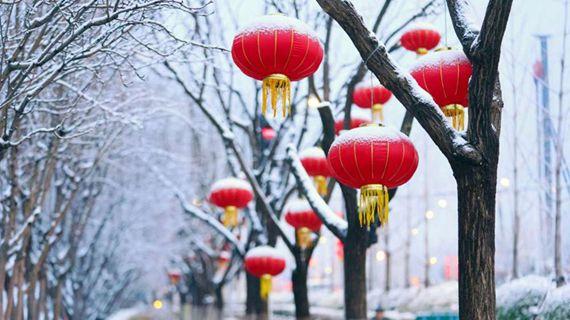 一覺醒來,北京又下雪了!雪景圖新鮮出爐