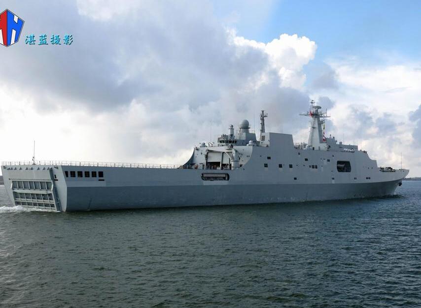 海軍071塢登:萬噸巨艦魄力足