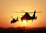軍媒公開駐新疆武直-19大編隊飛行照