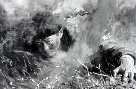英雄丨邱少雲:烈火鑄魂 英雄肝膽壯山河