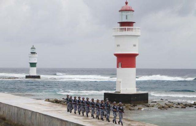 我為祖國守邊防丨南海華陽礁:戰風鬥浪守國門