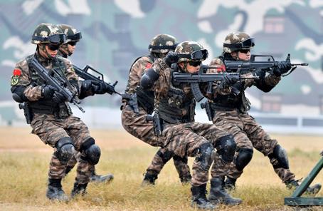 """這群""""高顏值""""的特戰隊員,從這裏走向戰場"""