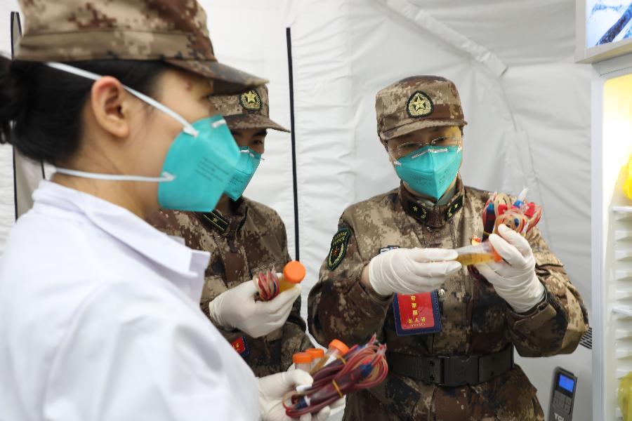 軍事科學院軍事醫學專家組抗擊新冠肺炎疫情記事