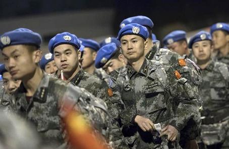 中国第15批赴苏丹达尔富尔维和工兵分队出征