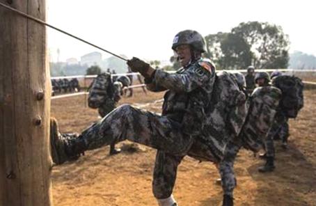 軍事體育訓練中心備戰第七屆世界軍運會記事