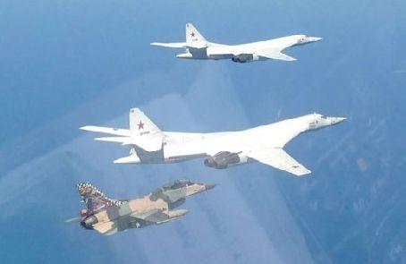 俄軍戰略轟炸機完成加勒比海飛行
