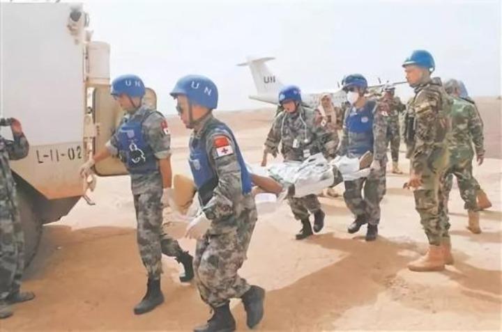 我維和官兵與友軍共對剛果(金)埃博拉新疫情