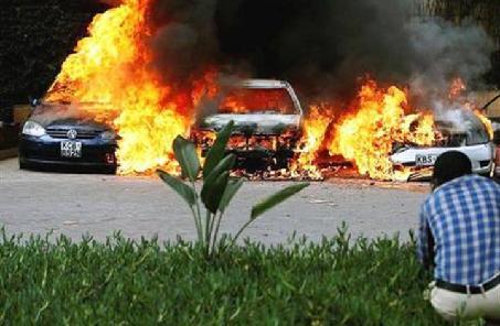 肯尼亞首都爆炸襲擊死亡人數升至6人