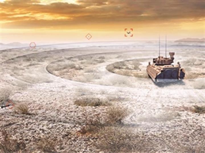 新型坦克周視係統:實現乘員全景觀察