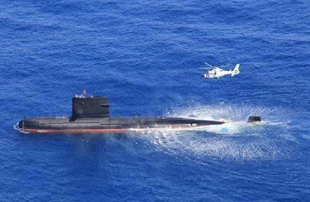 東部戰區海軍某護衛艦支隊組織艦潛對抗