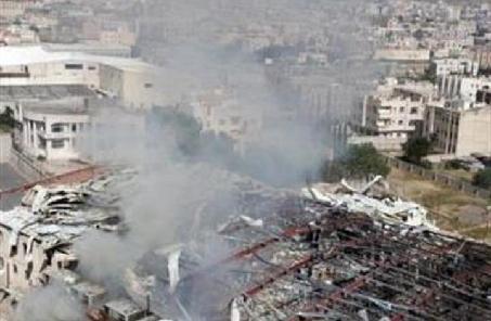 多國聯軍空襲也門薩那