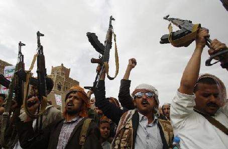 """報復胡塞武裝""""侵略"""" 多國聯軍空襲也門薩那"""