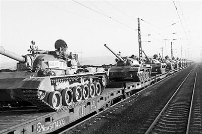 揭秘:軍工領域超限裝備如何搭火車