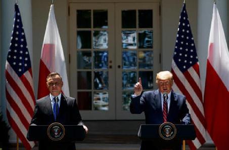 美國與波蘭達成框架協議 將向波增派1000名駐軍