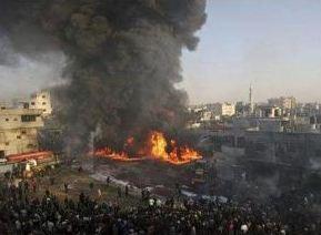 以色列轟炸加沙地帶哈馬斯數個目標