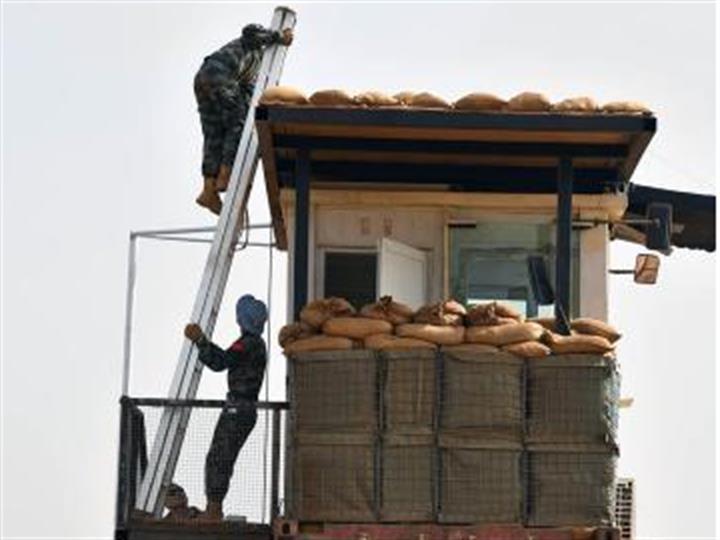 中國第七批赴馬裏維和警衛分隊全面升級安全防衛係統