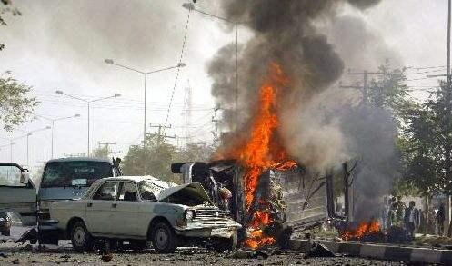 索馬裏首都遭汽車炸彈襲擊致10死26傷