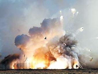 敘利亞首都一彈藥庫發生爆炸