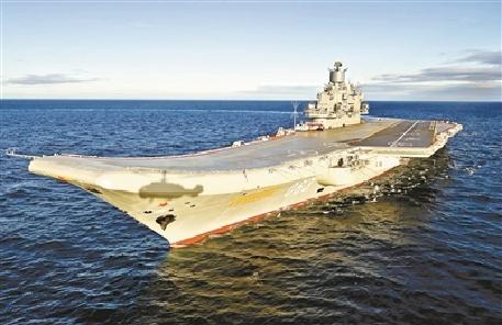 """航母不是""""帶艦島的平頂船"""""""