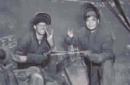 """用焊槍和火花""""銜接""""二戰勝利之路"""