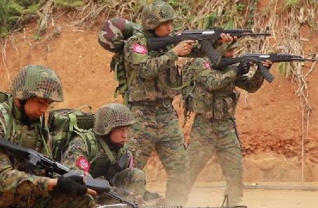 緬甸軍方説三支民地武襲擊軍警設施