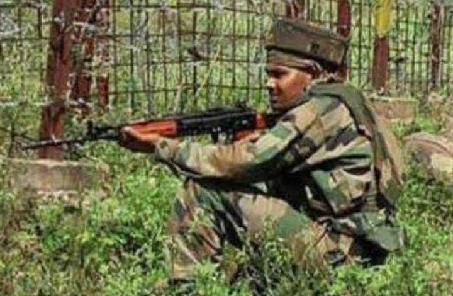 巴基斯坦和印度兩國軍隊在克什米爾實控線附近交火