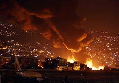 """黎巴嫩媒體説以色列一架無人機在黎以邊境""""縱火"""""""